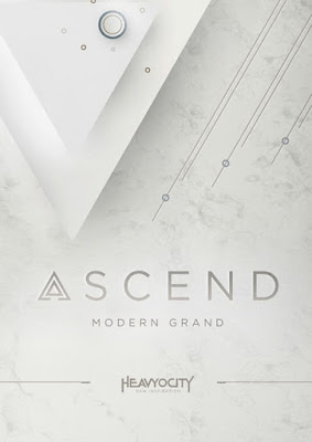 Cover da Library Heavyocity - ASCEND Modern Grand (KONTAKT)