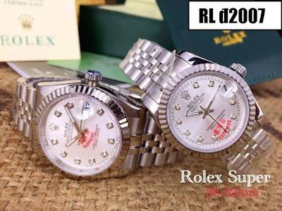 Đồng hồ cặp đôi Rolex Đ2007