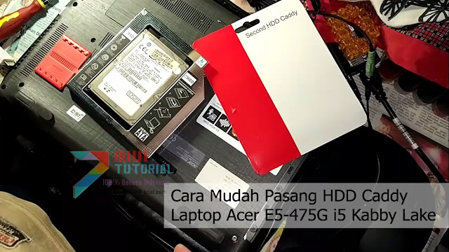 DVD Rom Di Leptop Kamu Jarang Digunakan? Bagaimana Kalau Dipasang HDD Kedua Saja Via HDD Caddy? Ini Tutorial Lengkap Cara Pemasangannya!