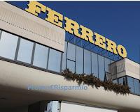 Logo Ferrero ''Vinci weekend alla Fabbrica del cioccolato''