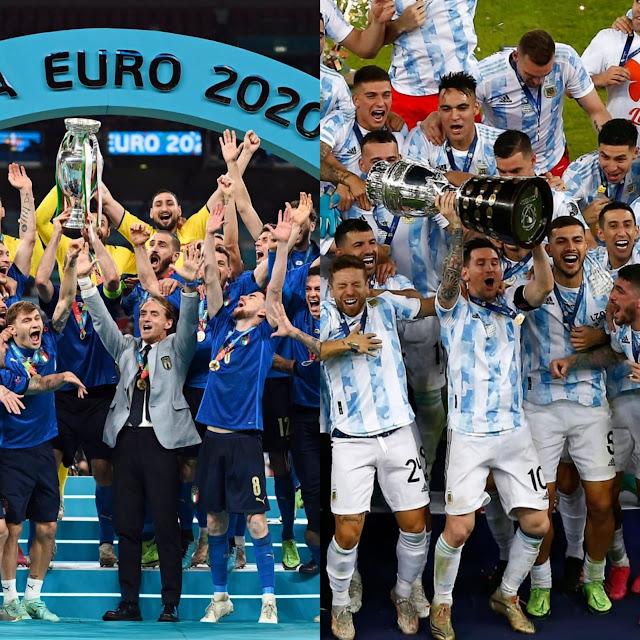 ITALIA Y ARGENTINA VUELVEN A REINAR EN EL FUTBOL
