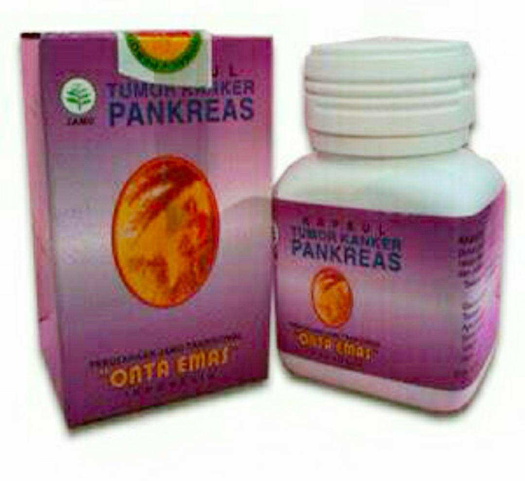 Jual obat herbal diabetes pankreas cap Onta Emas di Surabaya