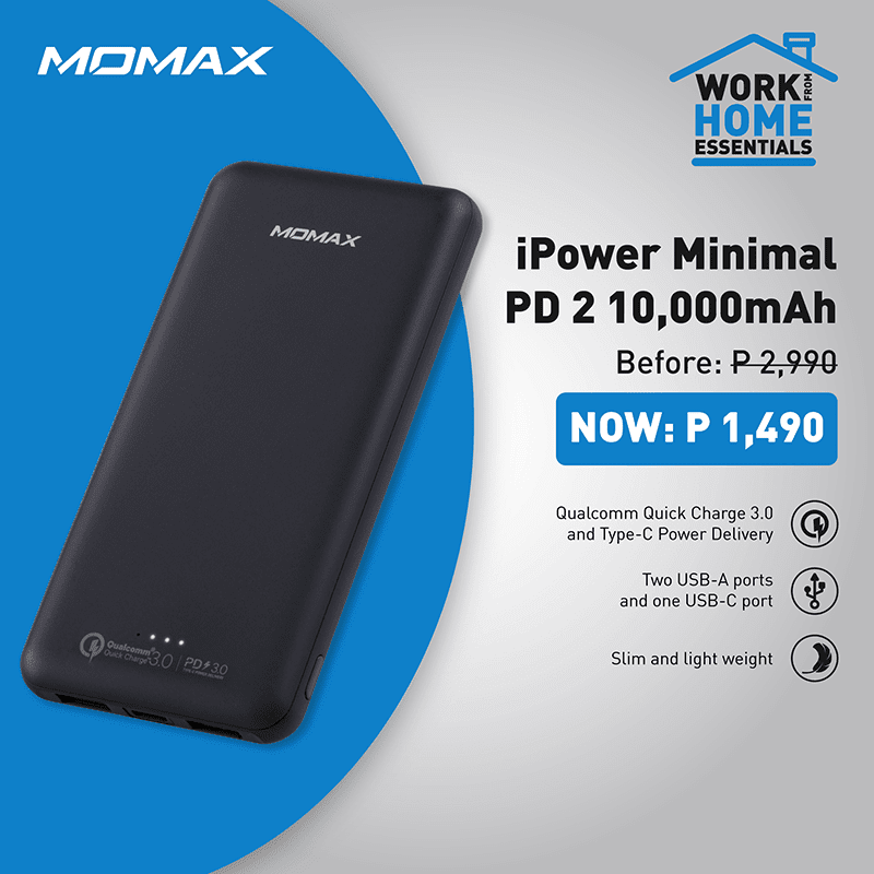 iPower Minimal PD 2 10,000mAh power bank