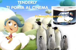 Logo Con Tenderly vinci gratis il cinema ''La marcia dei Pinguini''