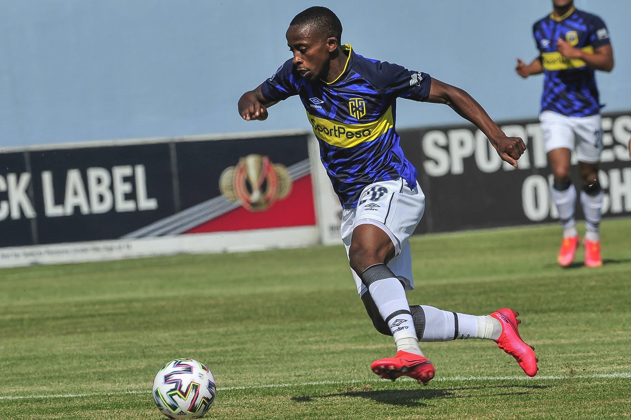 Midfield talisman Thabo Nodada