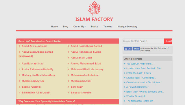 Website Islam Factory