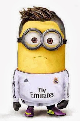 Minion de Cristiano Ronaldo Real Madrid