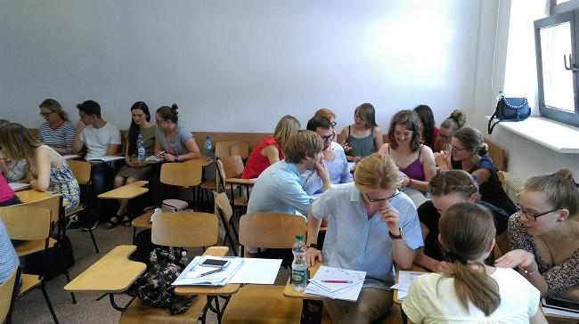 Uczestnicy Letniej Szkoły Młodych Naukowców - fot. materiały organizatora