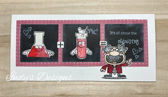 It's All About the Chemistry features You and Newton's Nook Designs; #indys_designs, #newtonsnook, #yns, #cardmaking