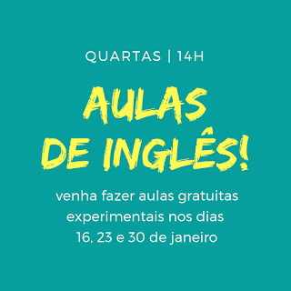 Aulas de inglês para iniciantes