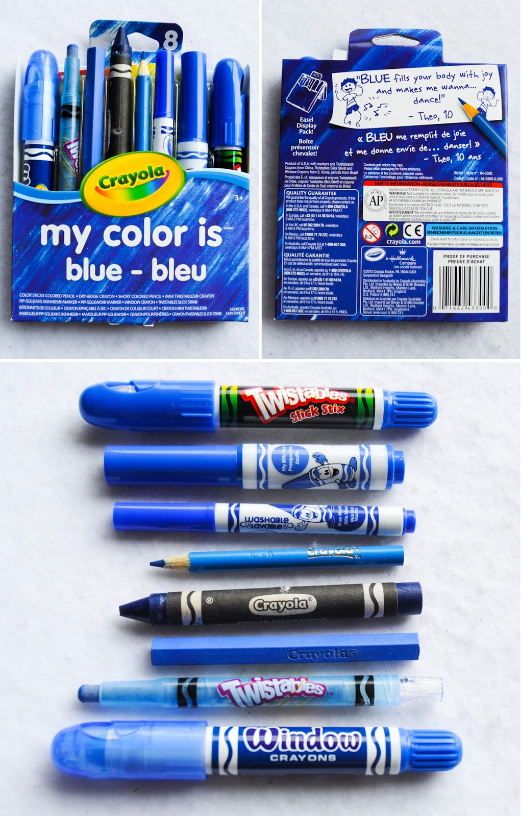 crayola my color is 8 count jenny 39 s crayon collection. Black Bedroom Furniture Sets. Home Design Ideas