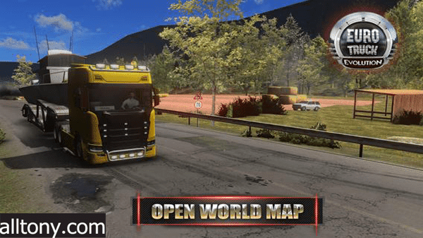 تحميل لعبة Euro Truck Simulator 2 اليورو شاحنة المحاكاة للأيفون والأندرويد XAPK