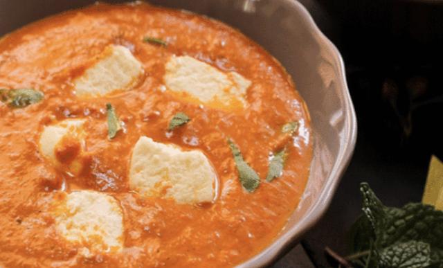 Homemade Shahi Paneer Dish