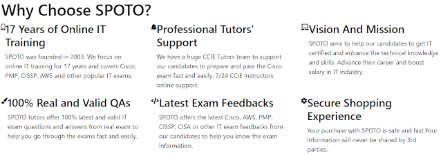 choose spoto to score in pmp exam
