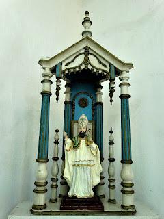Imagem de Santo Amaro na Igreja de Santo Amaro, General Câmara