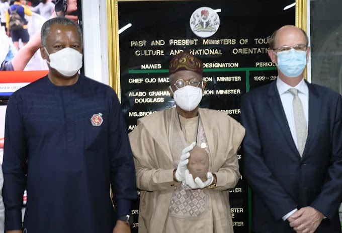 Netherlands returns Nigeria's 600-year-old Ife artefact