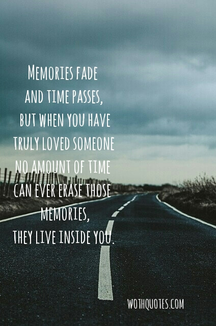 Best Sad Memories Quotes and Sayings