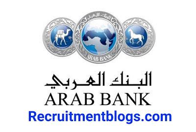 Multiple Available vacancies At Arab Bank