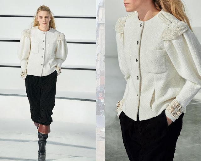 Chanel осень 2020 зима 2021 14