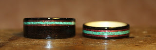 Wooden Rings by Touch Wood Rings