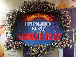 bunga papan barokah trans