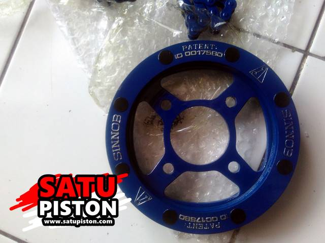 Review Gear Set Sinnob [UNBOXING TO PLUG] –Pemasangan Pada Honda Sonic 150-