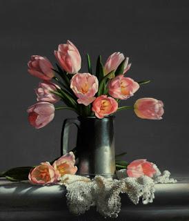 Las Flores en los Bodegones Hiperrealistas