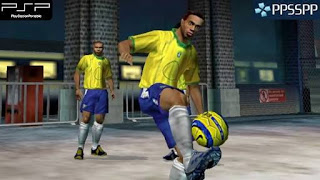 Game PSP/PPSSPP Terbaru Fifa Street 2 Cso High Compressed