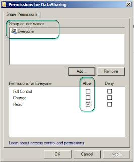 Default Sharing Permission