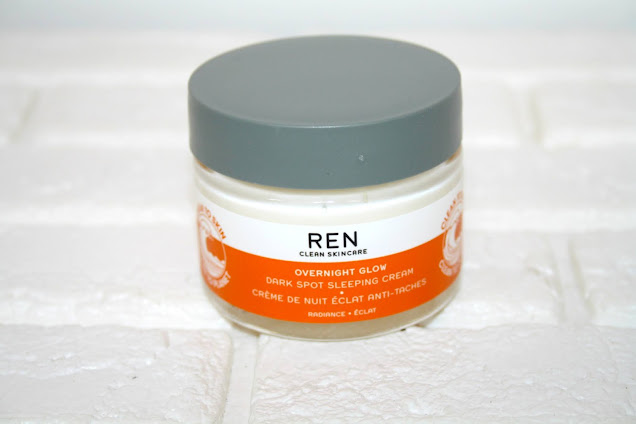 REN Overnight Glow Dark Spot Sleeping Cream