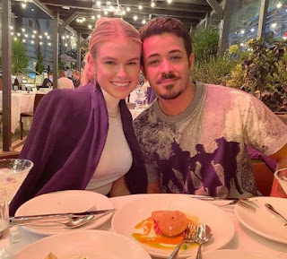 Christian Navarro with his girlfriend Abigail Garrett