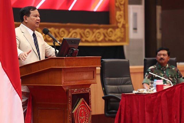 Menhan Prabowo: Kita akan Menambah Kekuatan Tempur TNI!