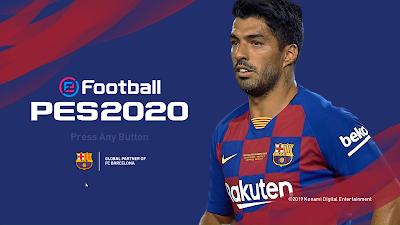 PES 2020 FC Barcelona Graphic Menu Mod by Hawke