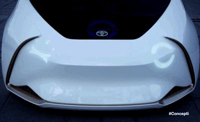 toyota ces 2017 concept i wink carro car