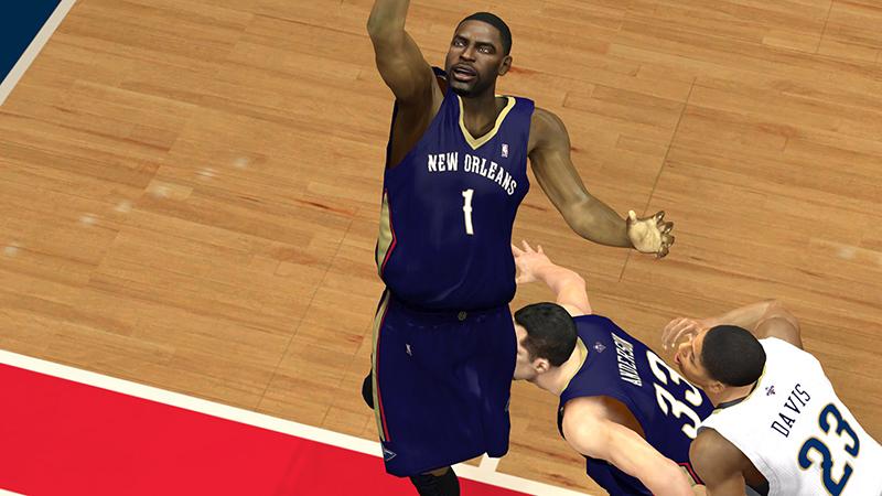a62d51c32 NBA 2K13 New Orleans Pelicans Official Jerseys - NBA2K.ORG