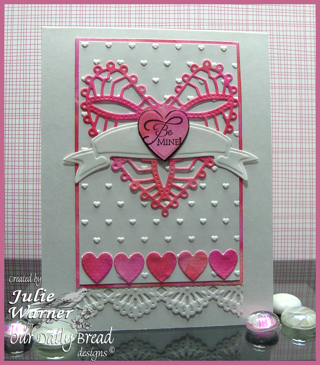 Stamps - Our Daily Bread Designs Be Mine - ODBD Custom Ornate Hearts Die, ODBD Custom Beautiful Borders Dies