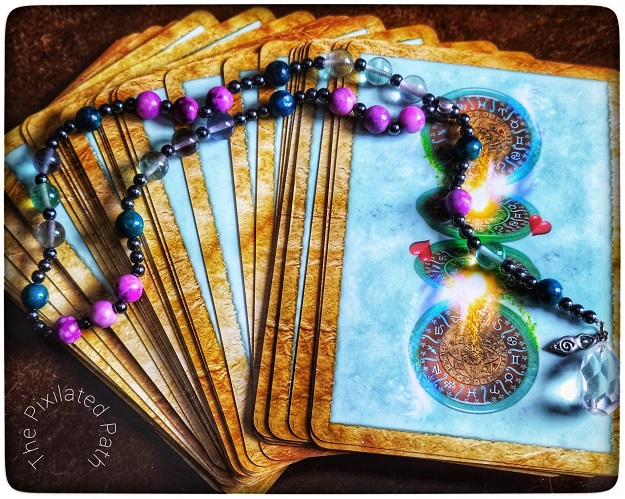 Foresight Friday divination reading using The Enchanted Map Oracle
