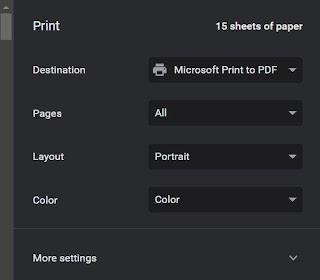 Print Web Page