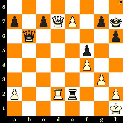 Les Noirs jouent et matent en 3 coups - Arne Zwaig vs Andreas Dueckstein, Tel Aviv, 1964