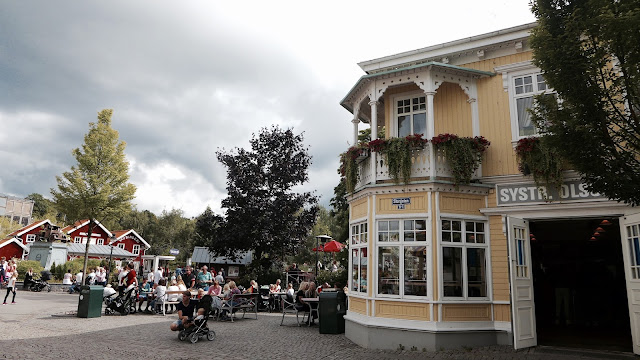 Photo of Corner of Main Street at Liseberg