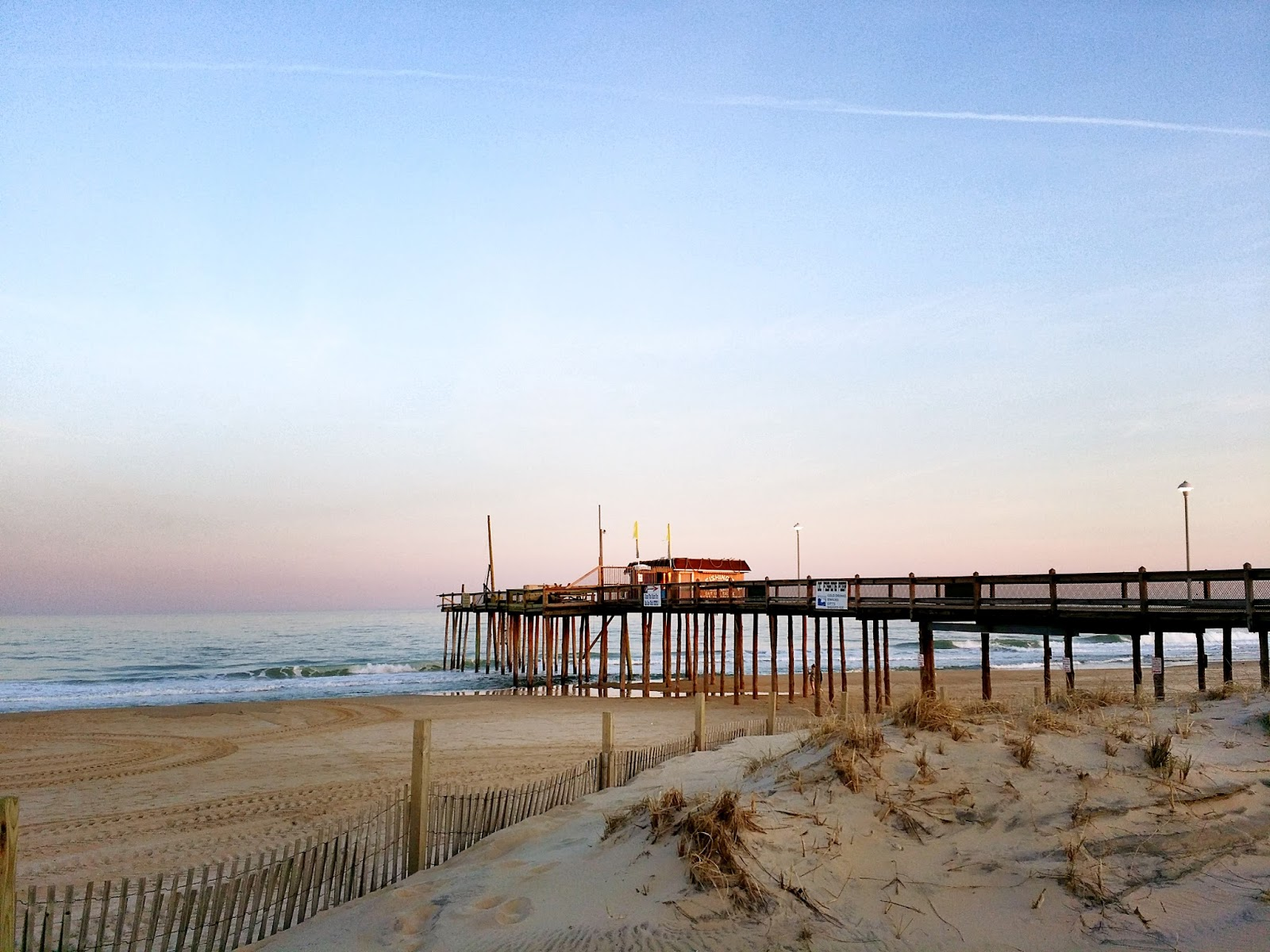 Life on delmarva a maryland landmark for over 100 years for Ocean city md fishing pier