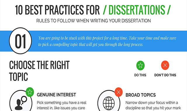 10 Dissertation Writing Tips and Tricks #infographic