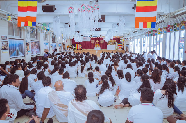 Sri Lankan Buddhist in Hong Kong