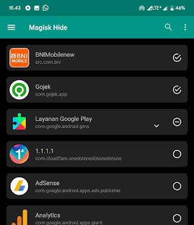 Solusi Login BNI M bank pada Android Root Magisk