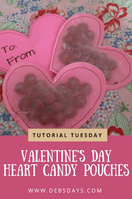 Homemade Personalized Valentine's Day Candy and Treat Bag Cards