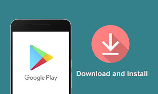 cara download  aplikasi playstore - google play
