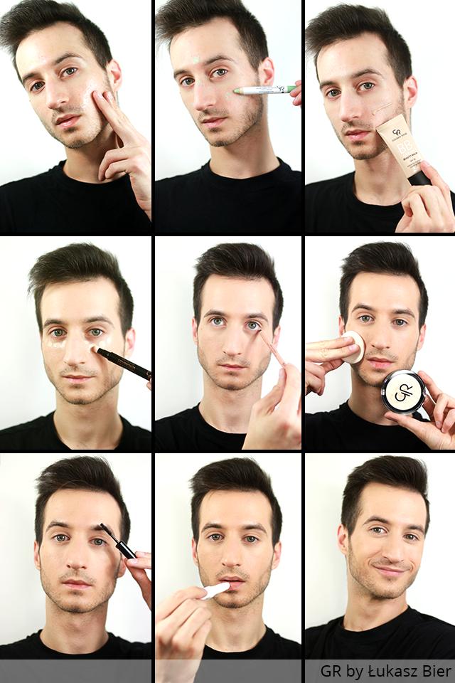 Męski makijaż na co dzień