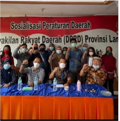 Fraksi Nasem Lampung Minta Masyarakat Ikut Perangi Covid-19