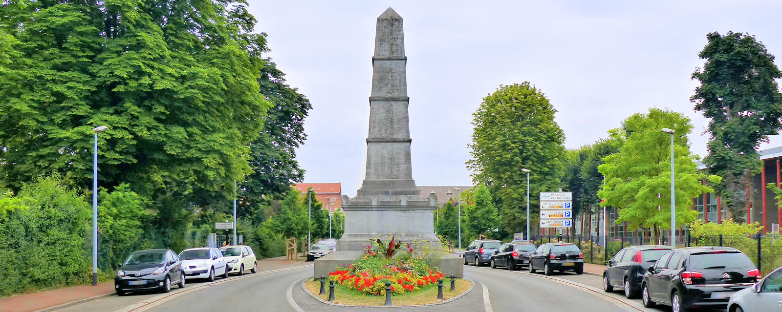 Bataille de Tourcoing de 1794 - Monument commémoratif, avenue Millet.