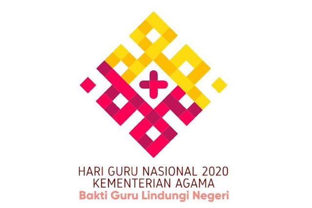 Logo Hari Guru Nasional 2020 Kemenag